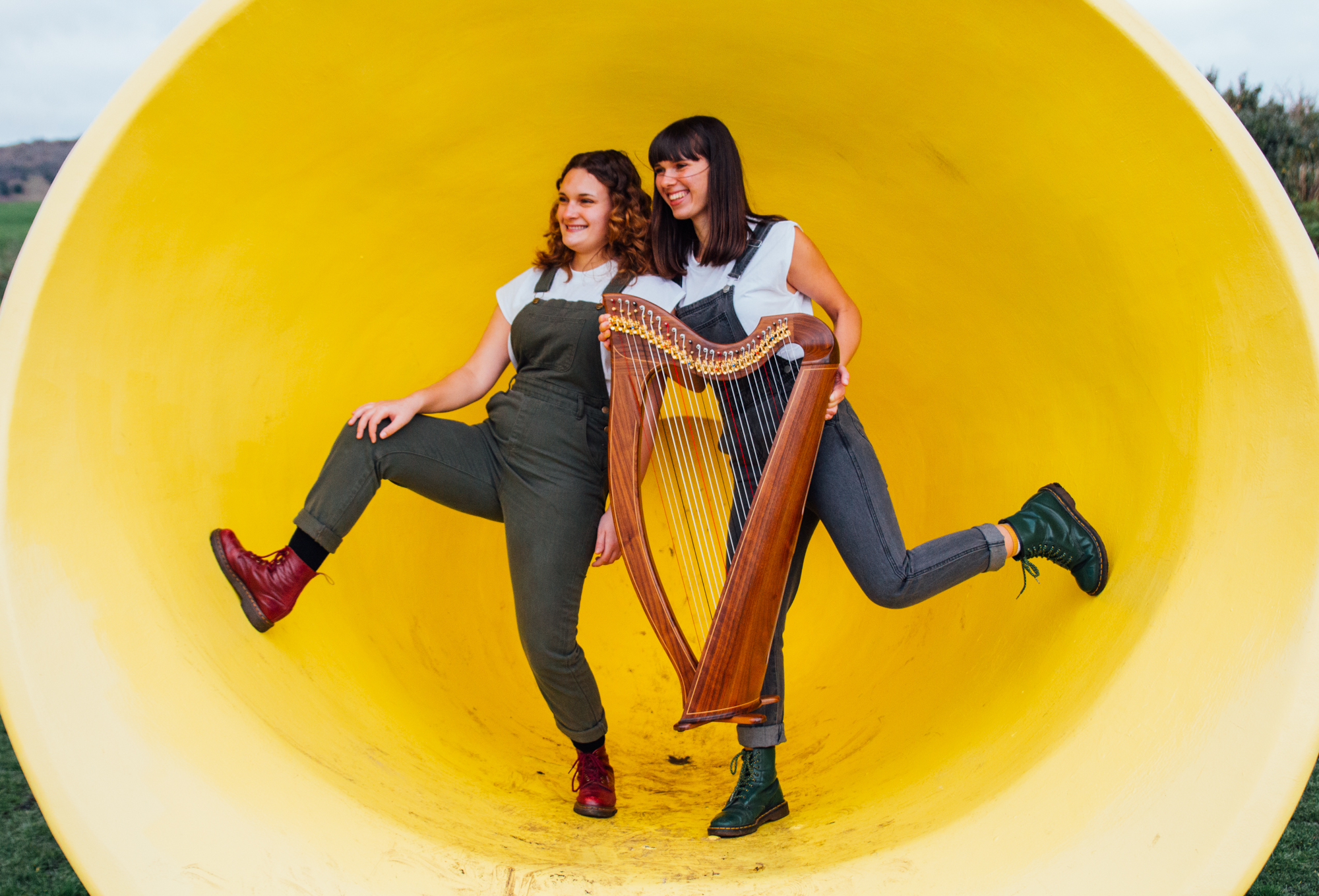 Promo Ace of Harps Harp Duo / Vocal Duo Kent