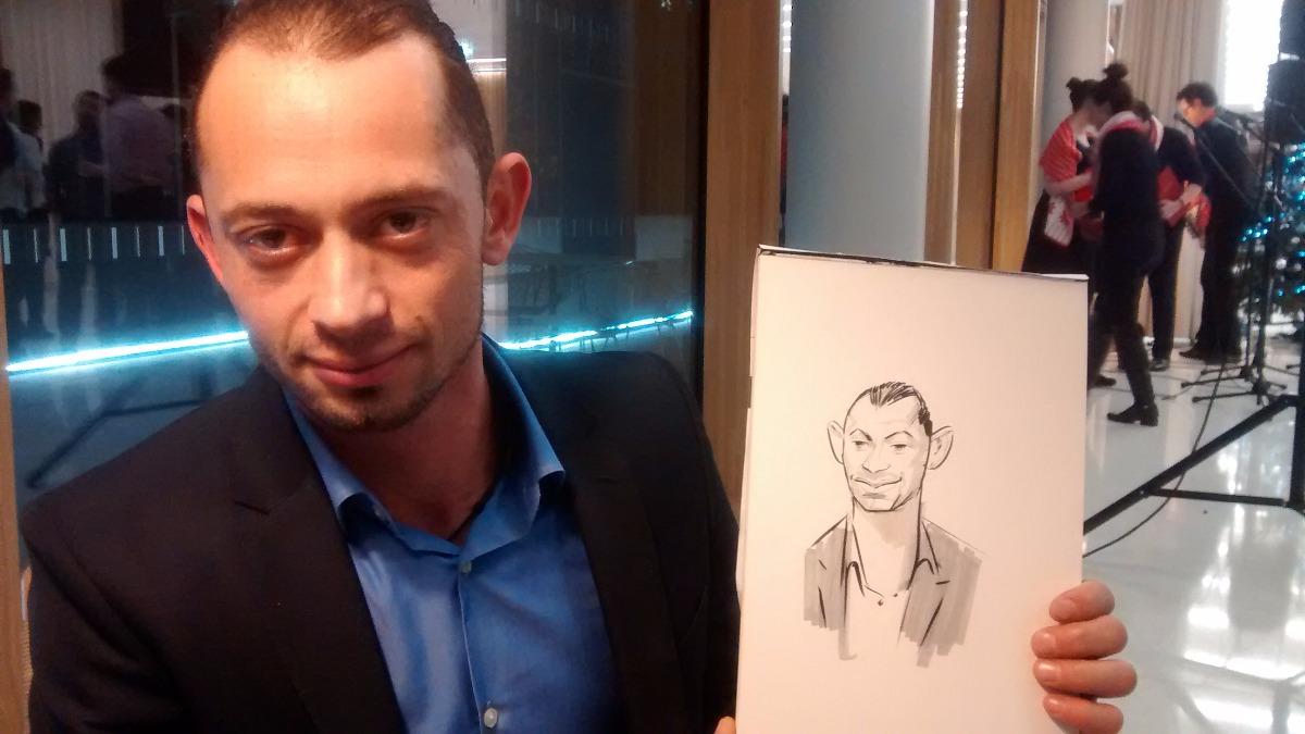 Promo Mark Reeve Caricaturist London