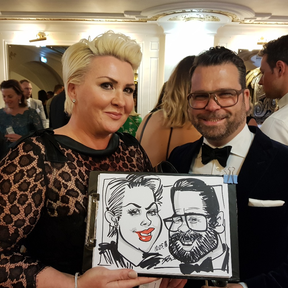 Promo Ivo the Caricaturist Caricaturist London