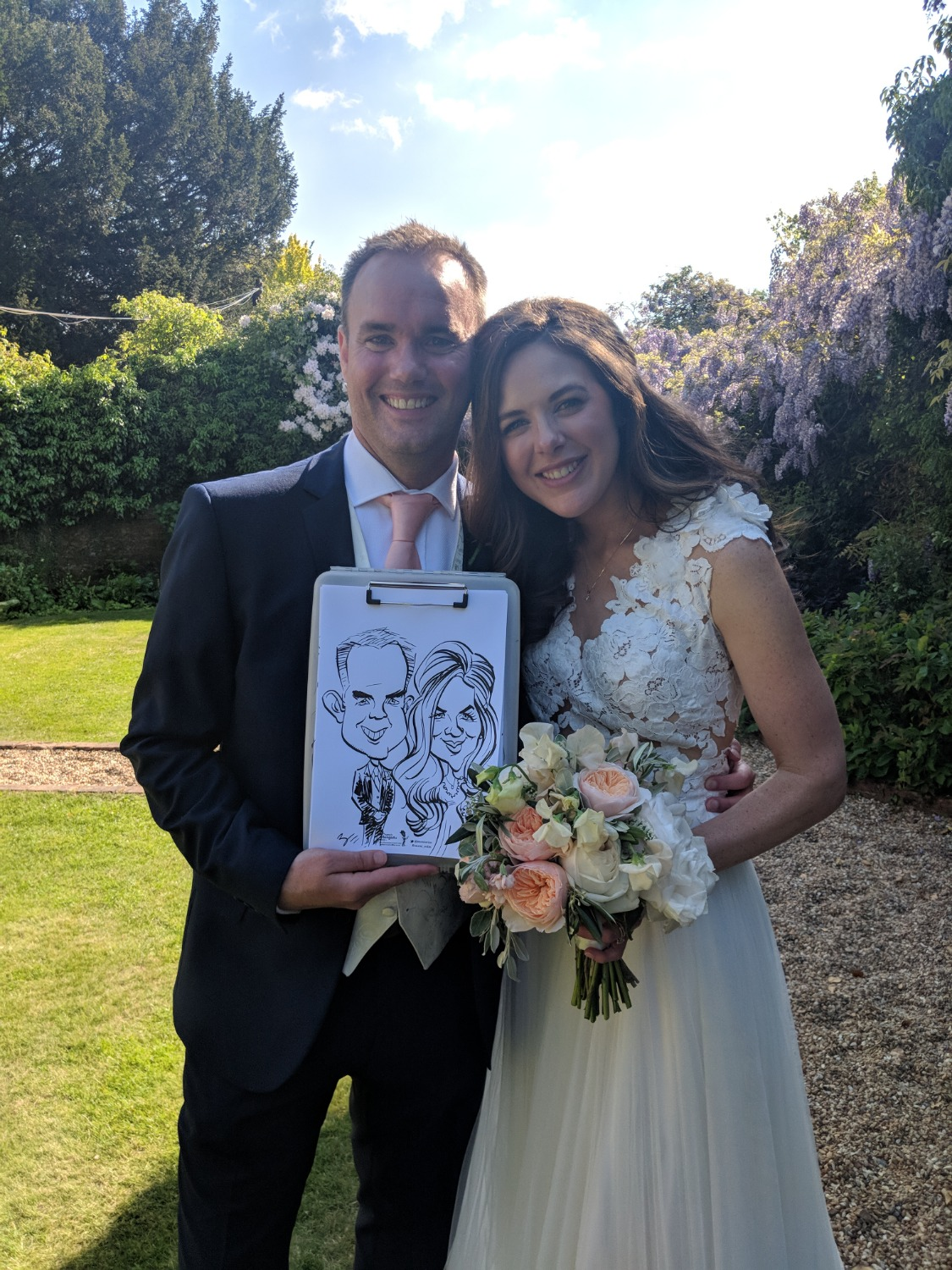 Promo Draw A Crowd Caricatures Caricaturist Bedfordshire