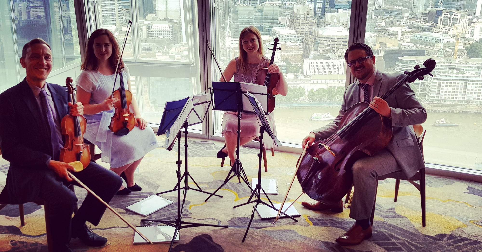 Promo Strettone Quartet String Quartet London