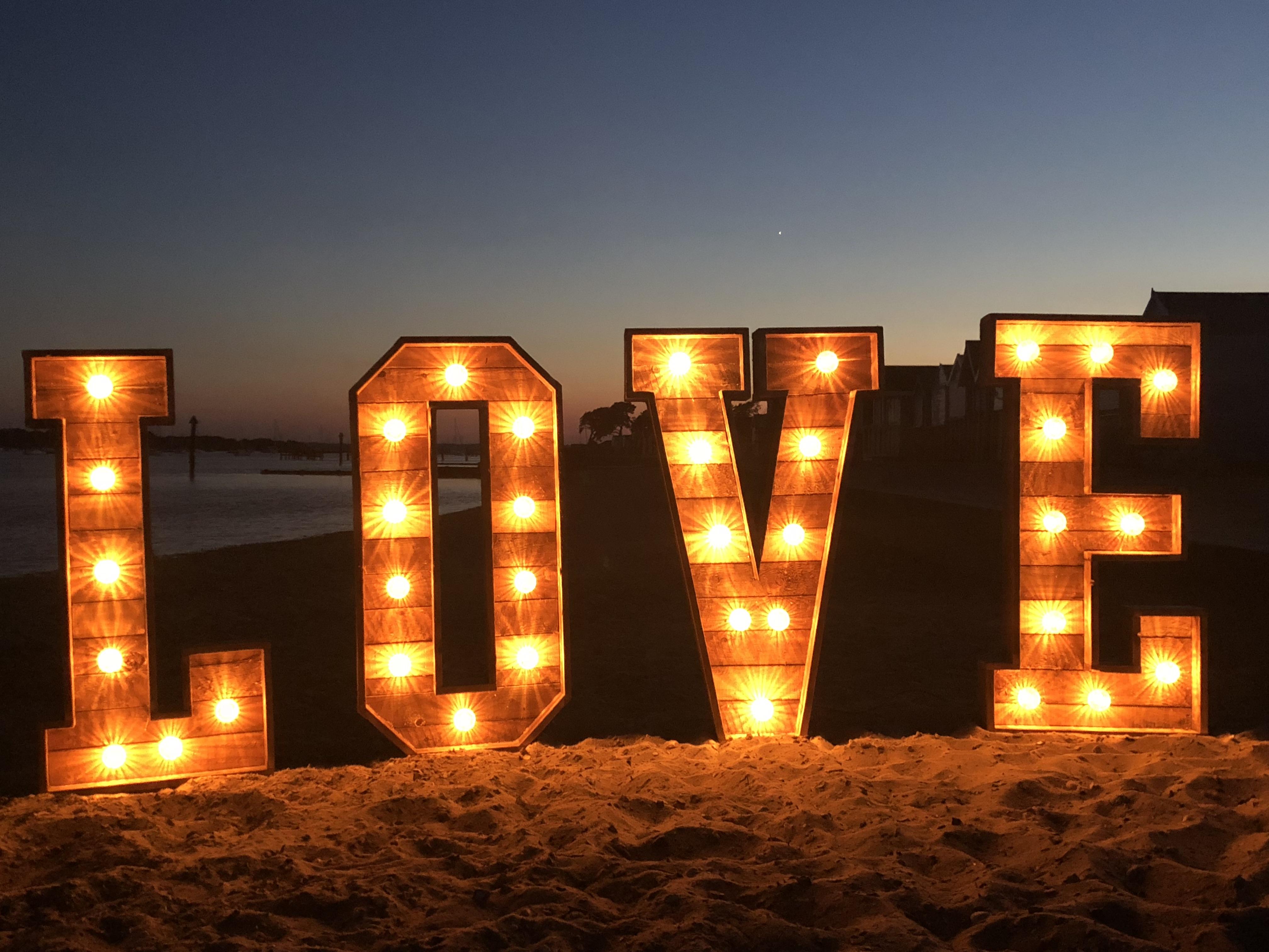Promo Lit Up Letters Light Up Letters Poole, Dorset