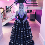 Promo Champagne Dress Street Performer East Yorkshire