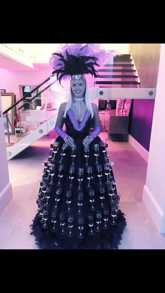 Promo Champagne Dress  East Yorkshire