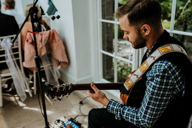Promo James Alexander Singer Guitarist Dorset