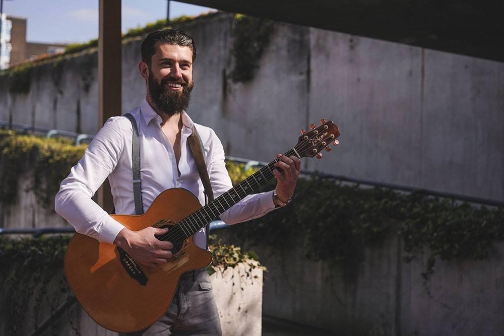 Promo James Mac Singer Guitarist London
