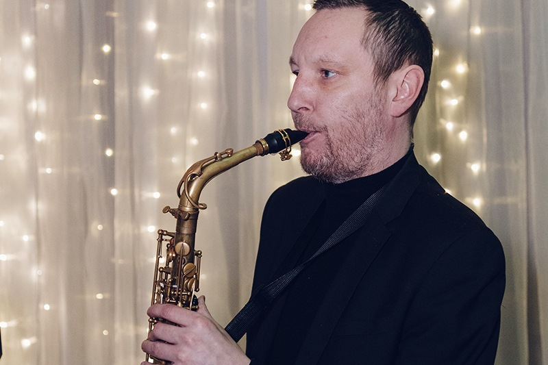 Promo Jamie Heart Saxophonist Cheshire