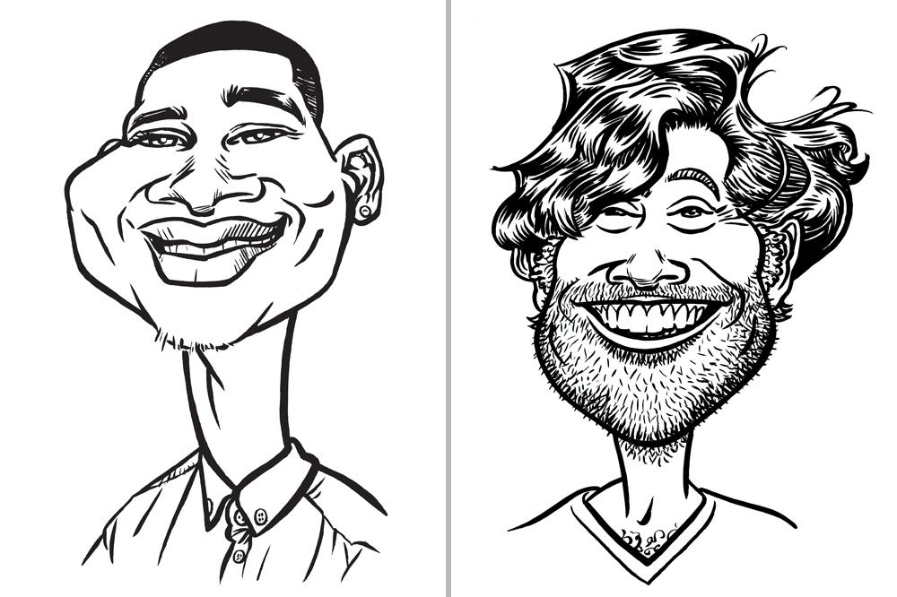 Promo ToonAru Caricatures Caricaturist Suffolk