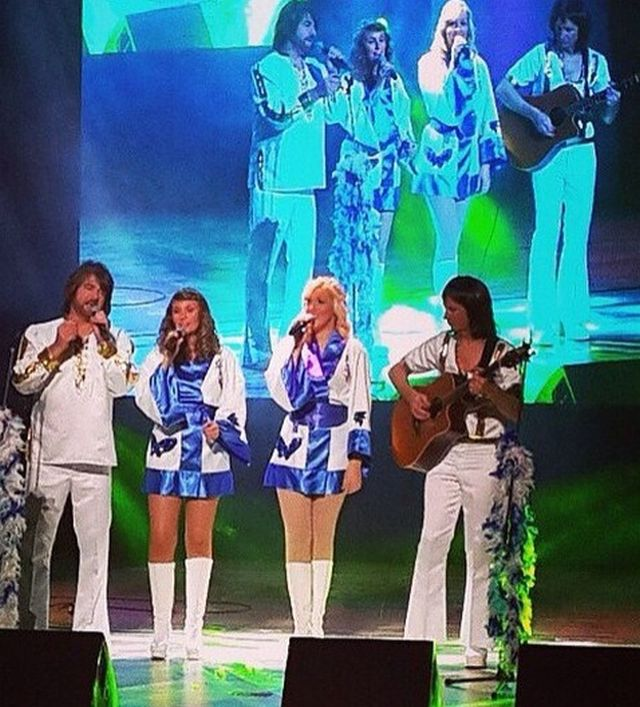 Promo (ABBA) ABBA Authentic Abba Tribute Band Essex