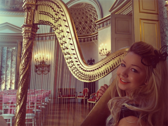 Promo Jessica Louise (Harpist) Harpist Cheshire