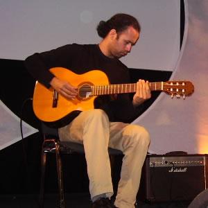 Promo J F Guitar  London