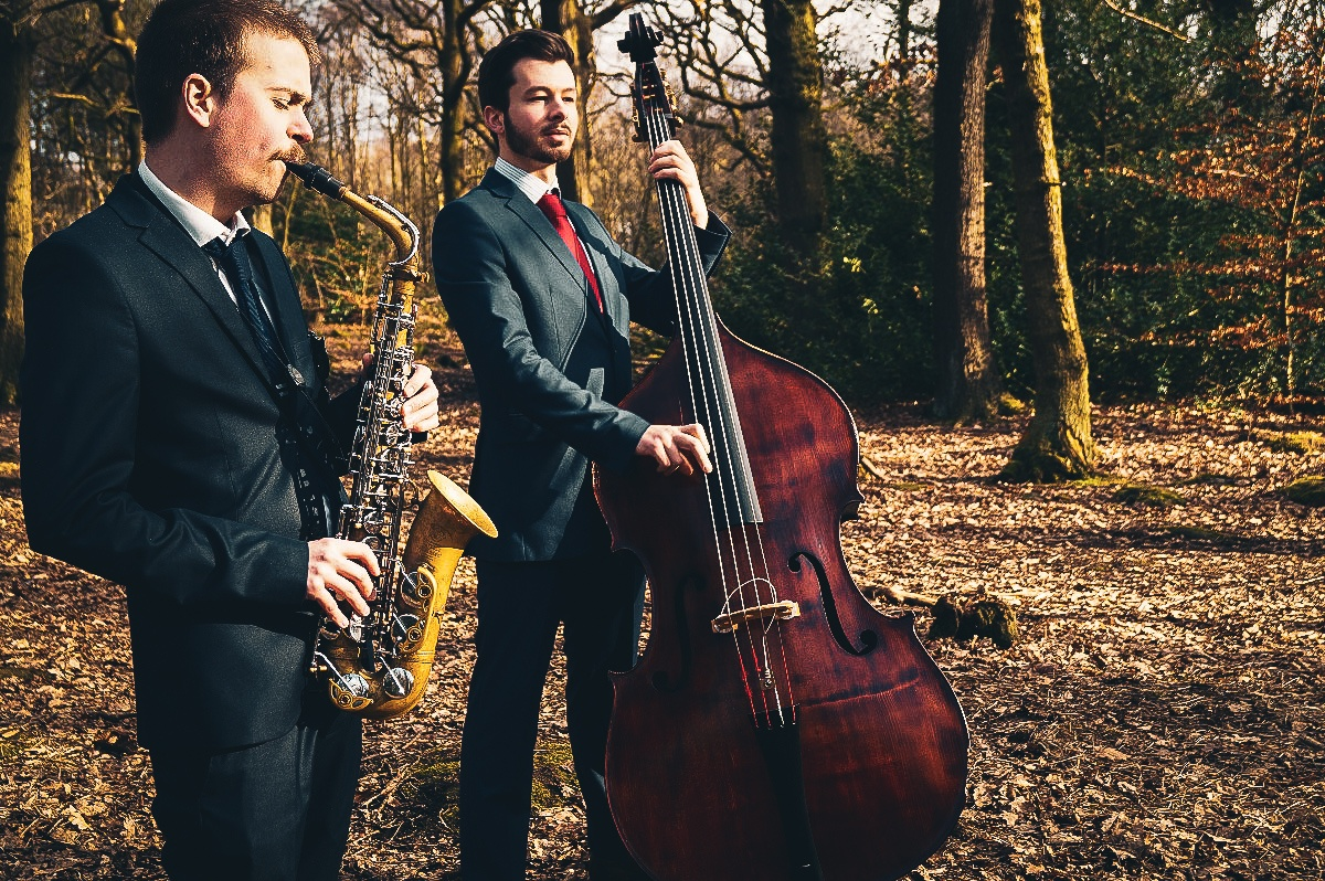 Promo Jive Duo Jazz Band West Yorkshire