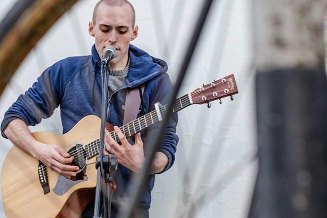 Promo Joe Brian Singer Guitarist Hampshire