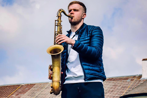 Promo Joe Frederic Saxophonist Greater Manchester