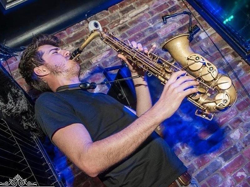 Promo Joe On Sax Saxophonist Dorset