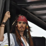 Promo Johnny Depp Captain Jack Sparrow Lookalike Lookalike London