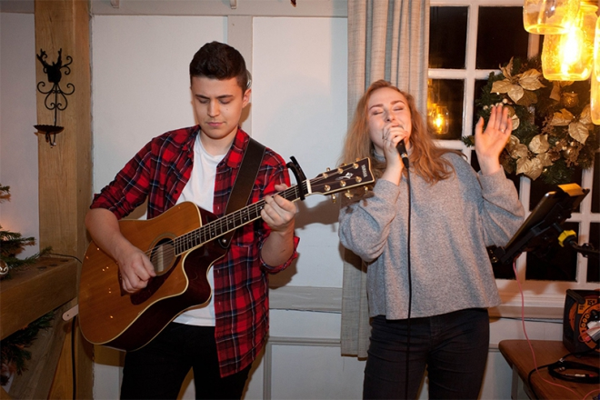 Promo Joshua and Rebekah Acoustic Band Greater Manchester