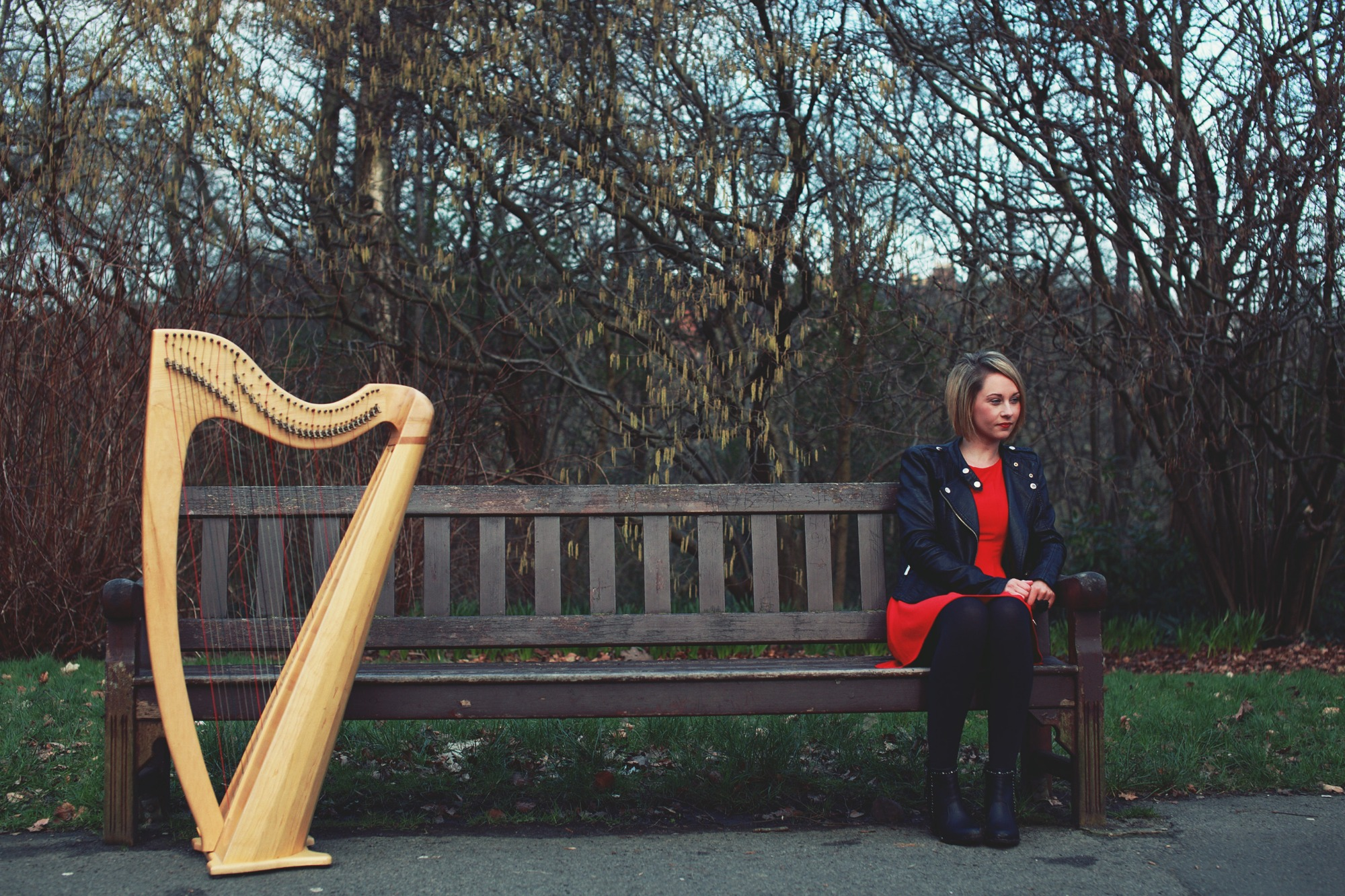 Promo Katie M Gaelic / Scottish Harpist and Singer Glasgow
