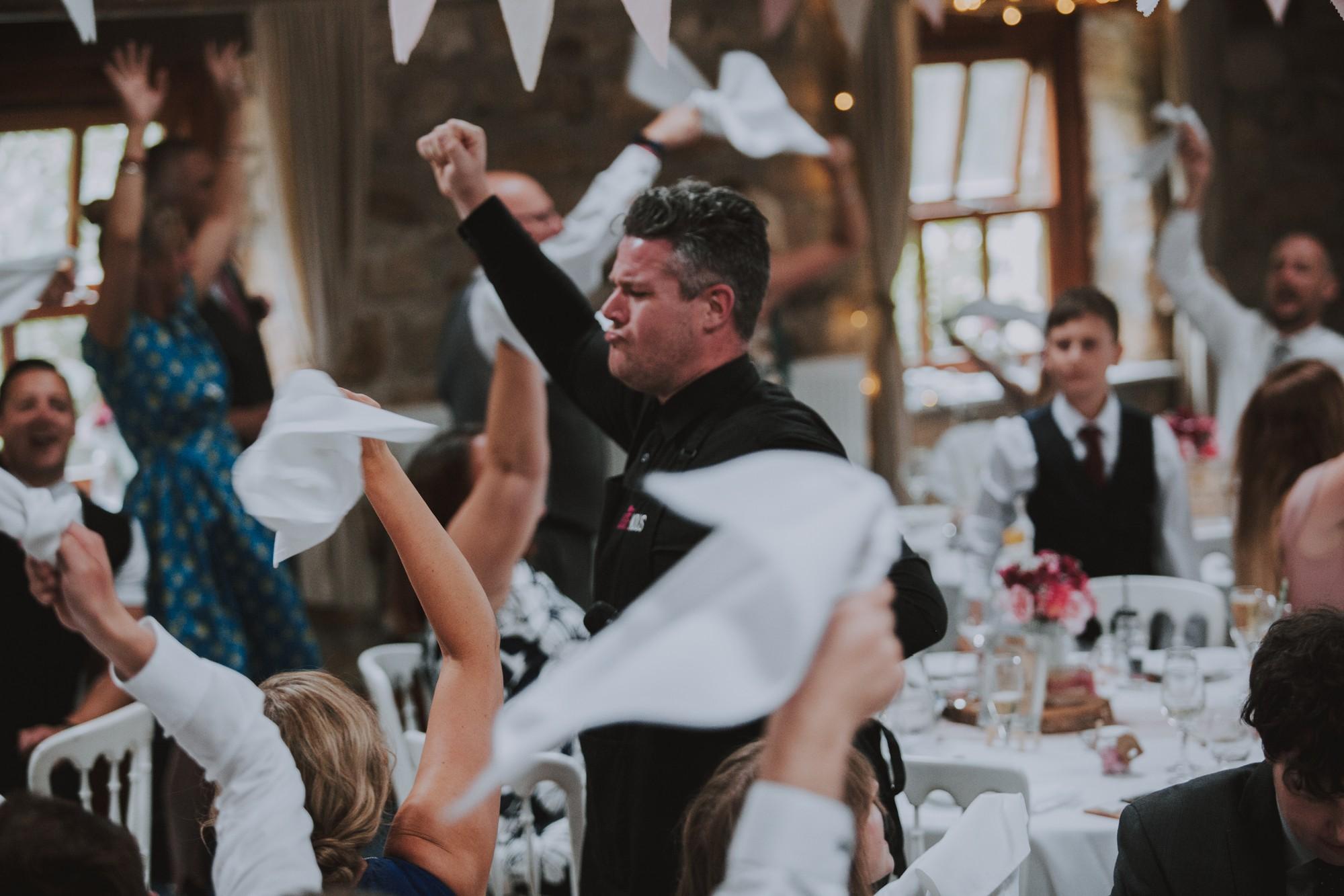 Promo Super Singing Waiters  West Yorkshire