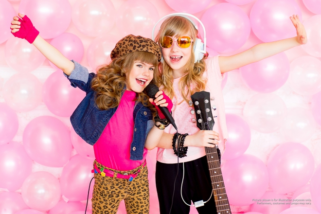Promo Online Pop Star Party Online Kids Party Staffordshire