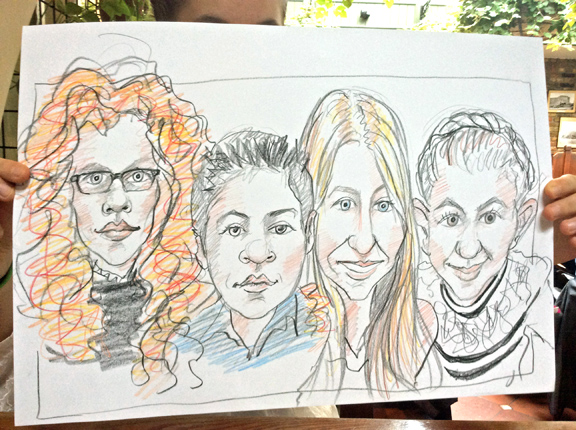 Promo Chris Caricatures Caricaturist London