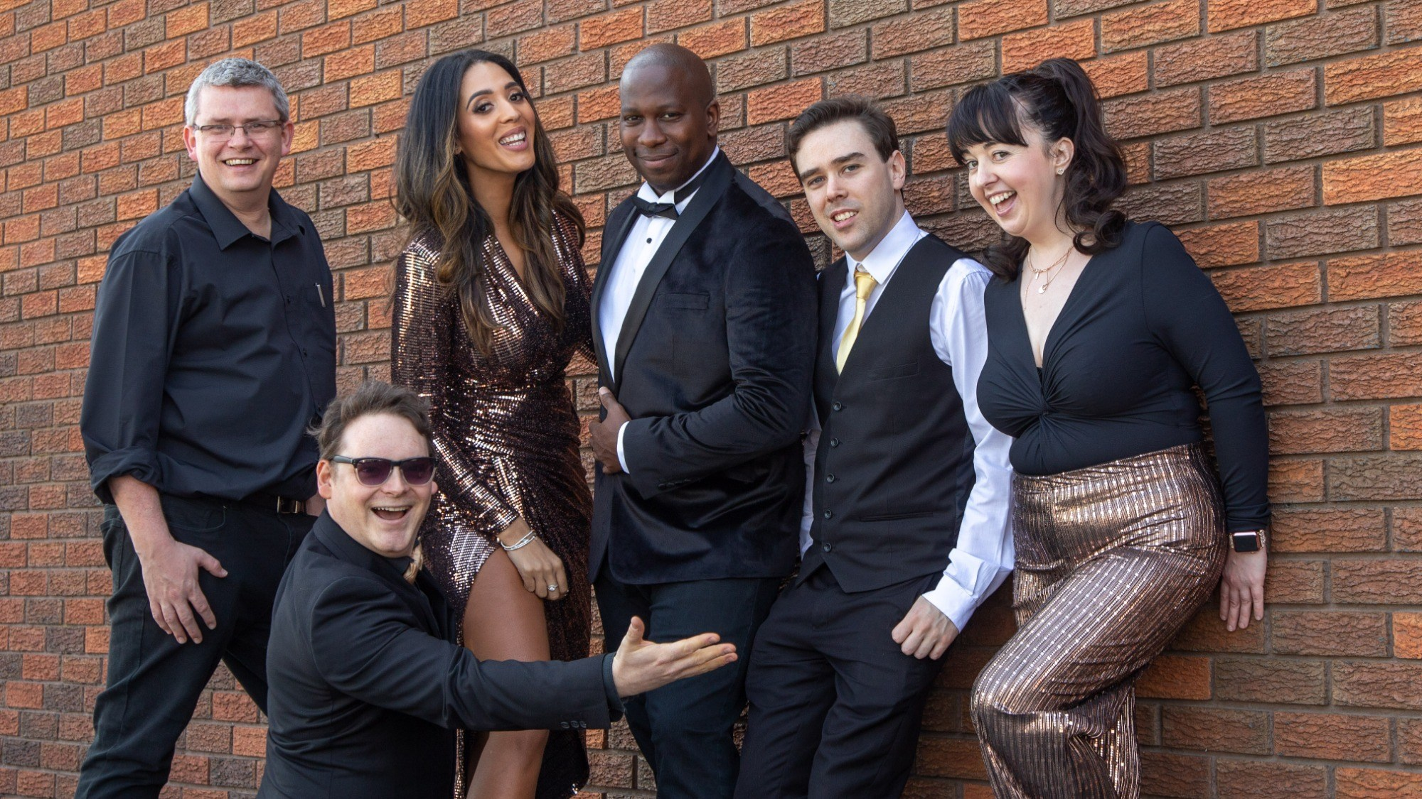Promo La Frontera Pop, Soul and Funk Band Merseyside