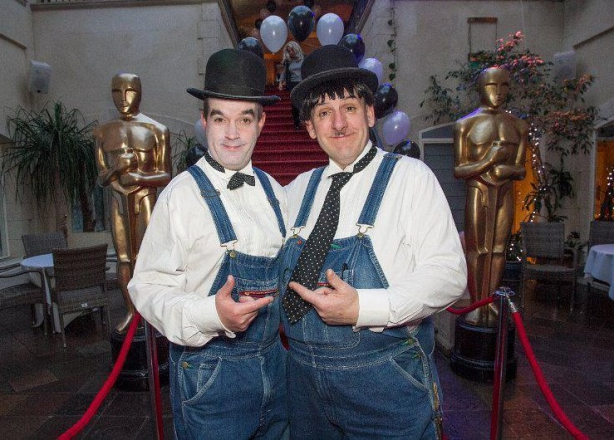 Promo Laurel and Hardy Lookalike Lookalike Oxfordshire
