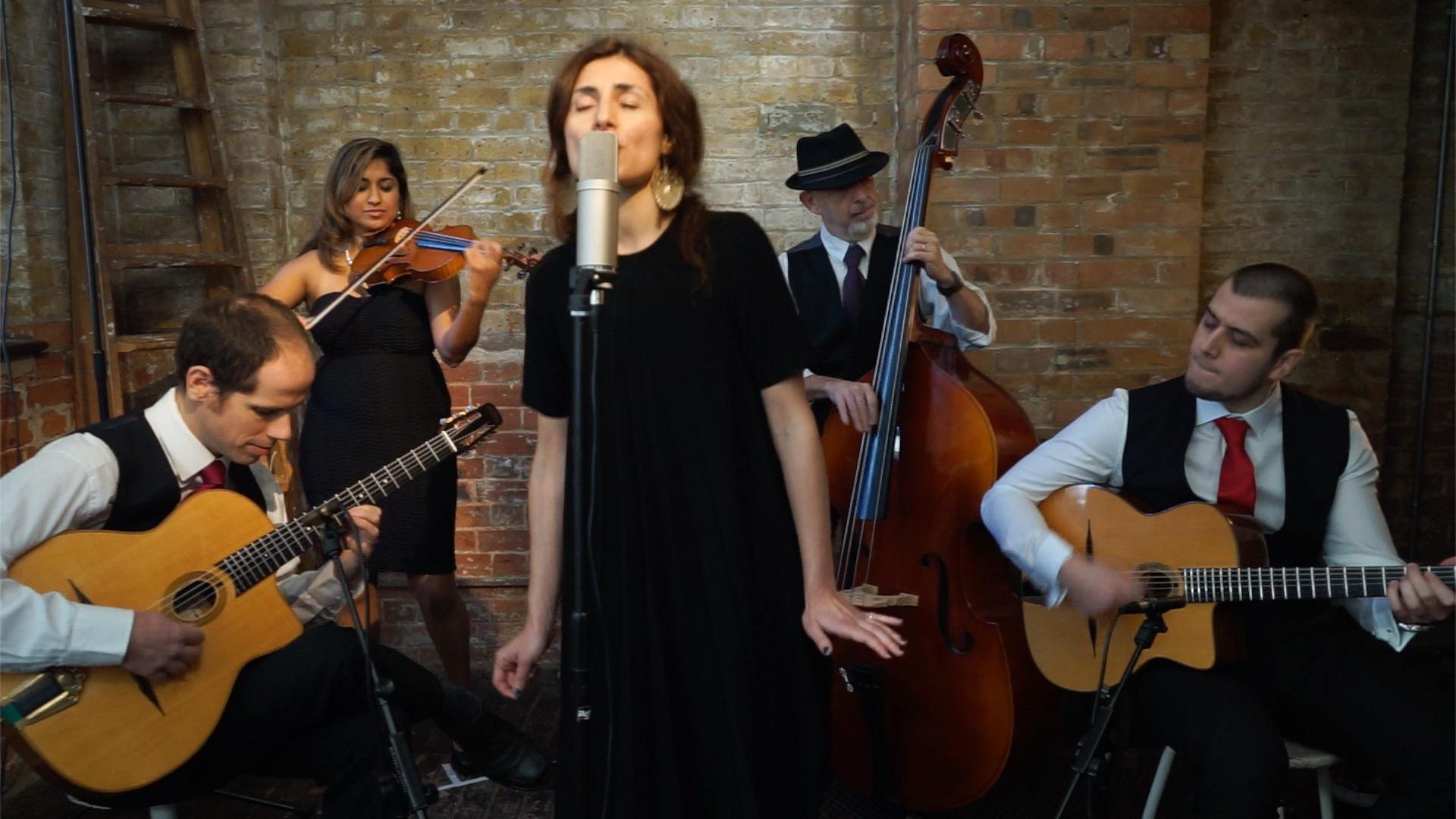 Promo Hot Club De Londres Gypsy Jazz Quintet London