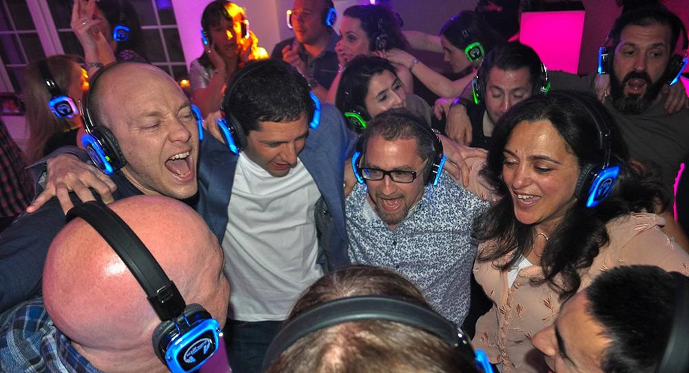 Promo Light Up Silent Disco Party DJ Essex