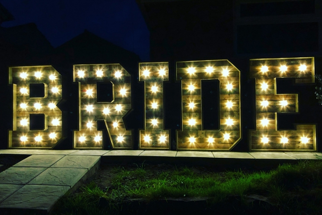 Promo Lit Up Letters Light Up Letters Dorset