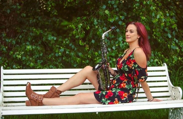 Promo Lizzie B Sax Saxophonist Berkshire