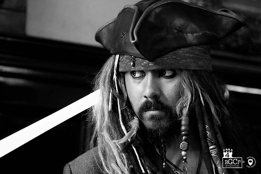 Promo Jack The Caribbean Pirate Lookalike Glasgow
