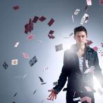 Promo Luca Valentino Close Up Magician Burton On Trent, Staffordshire