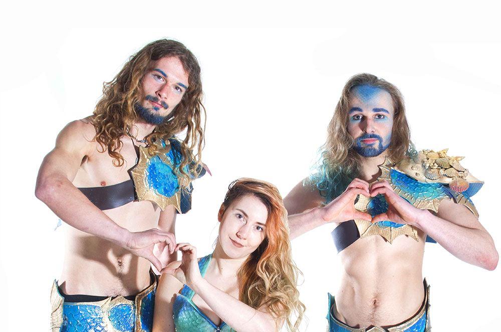 Promo Magical Mermaids Circus Performer Nottinghamshire