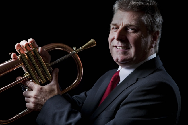 Promo Trumpet Player Malcolm Lewis Solo Jazz Trumpeter Vale of Glamorgan