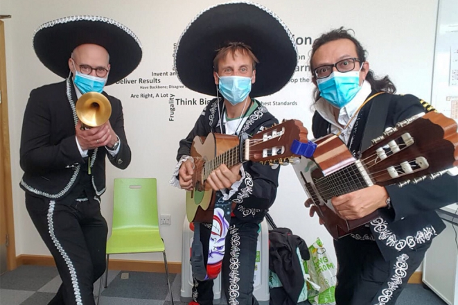 Promo Mariachi Loco Mariachi Band Bristol