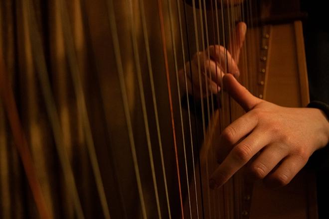 Promo Marias Harp Harpist Down