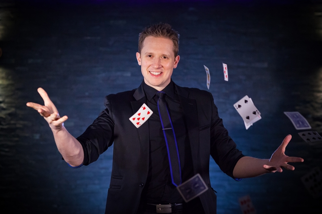 Promo Martin Reed Magician London