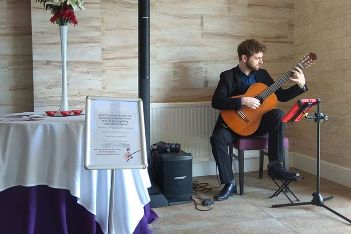 Promo Matt Whiting Classical Guitarist Greater Manchester