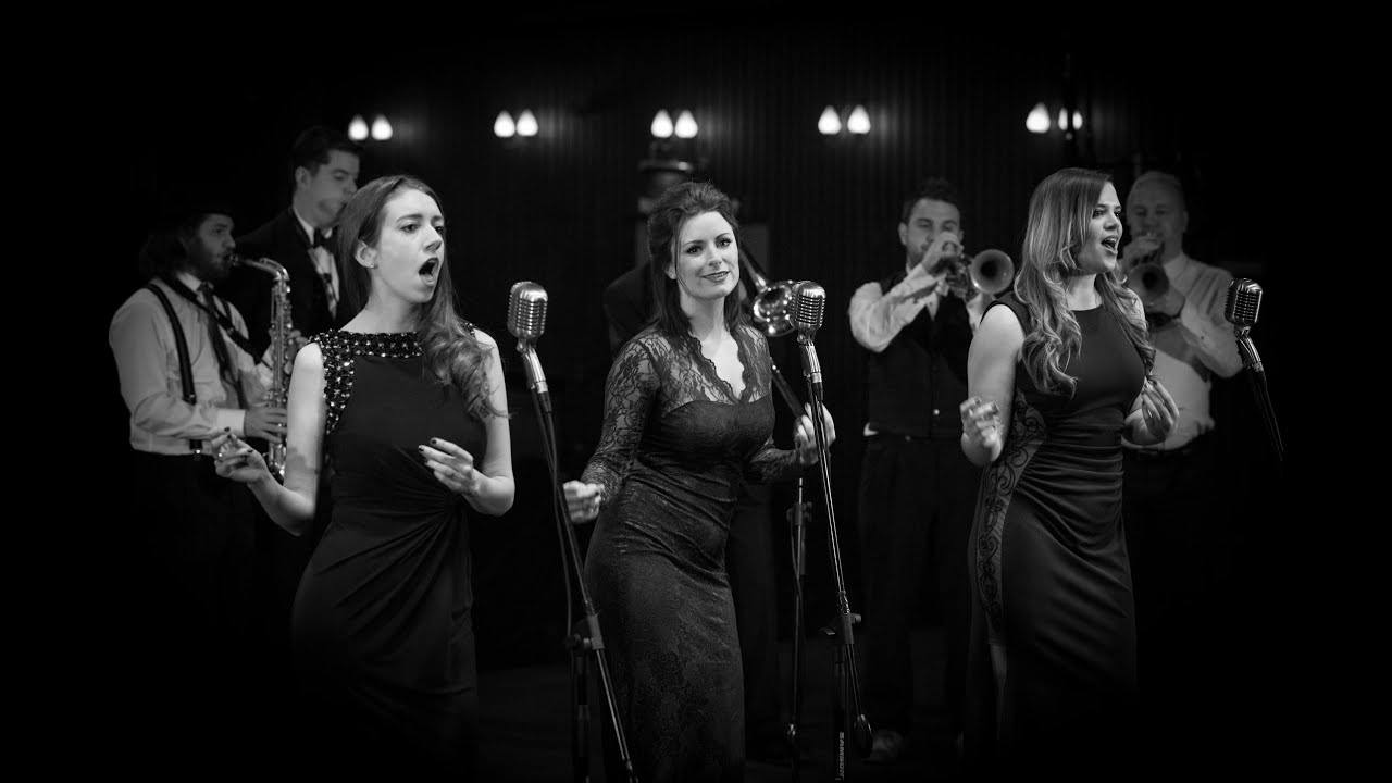 Promo Lady Icon Rock n Roll Swing Band West Sussex