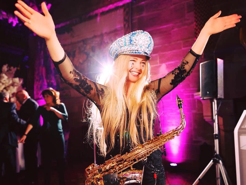 Promo May On Sax Saxophonist Greater Manchester