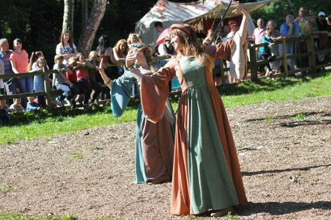 Promo Medieval Maids Medieval Characters Leicestershire