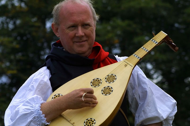 Promo Medieval Minstrel Medieval Musician West Yorkshire