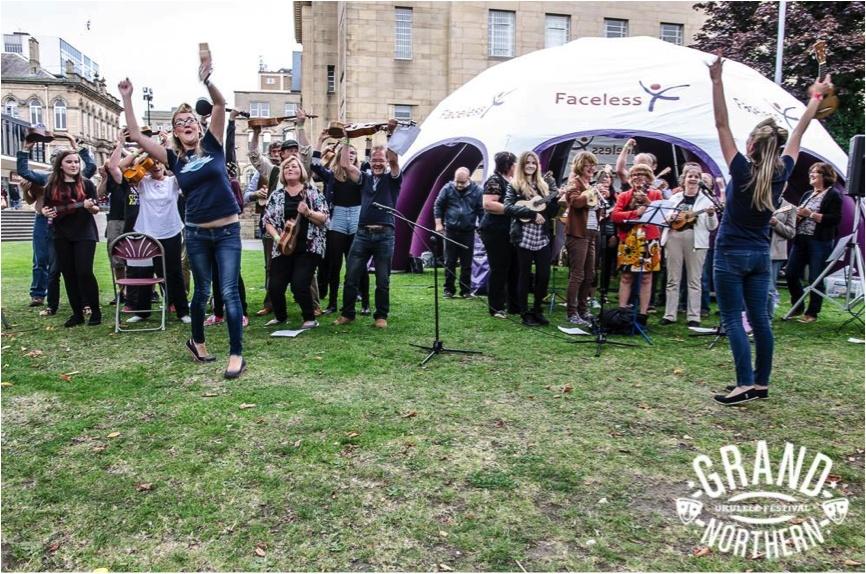 Promo Vocal and Ukulele Workshop  Merseyside