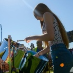 Promo Mica Steel Drummer  West Sussex