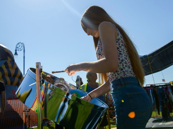 Promo Mica Steel Drummer Steel Band West Sussex
