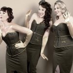 Promo S.O.S (Sirens of Swing) Vintage Vocal Trio Essex
