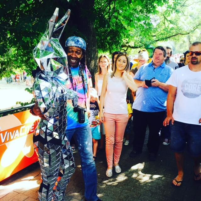 Promo Robo Bunny Mix and Mingle Entertainer London