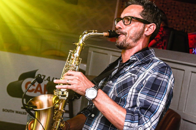 Promo Mr Sax Saxophonist Caerphilly