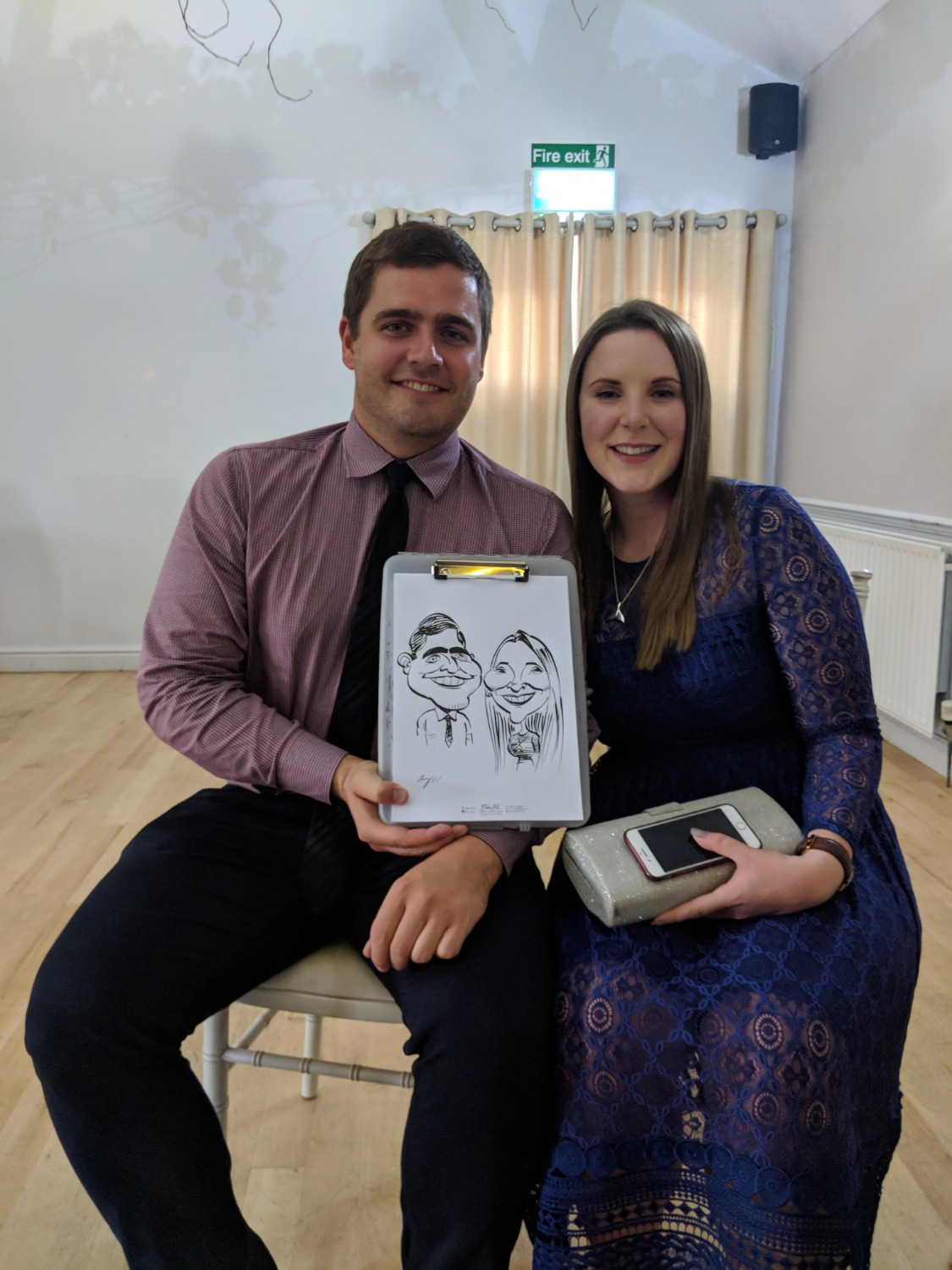 Promo Draw A Crowd Caricatures  Bedfordshire